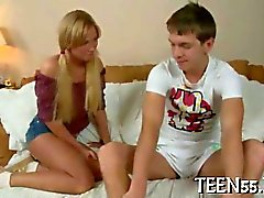 teen blonde fingering