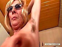 blonde granny hardcore