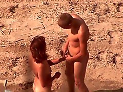 amateur plage de plein air