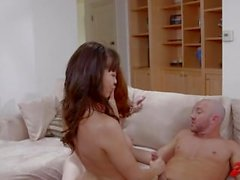 dana dearmond brunette 3some