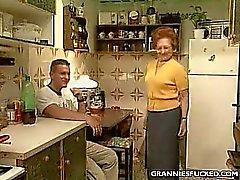 Kitchen GILF Fucking