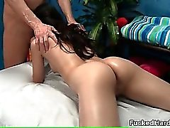 blowjob brunette fingering massage small tits