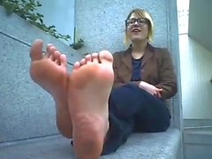 very old flats stinky soles