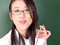 asiatique collège poilu branlette