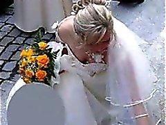 jeune mariée petite amie lingerie nylon