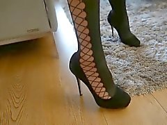 fetichismo del pie medias softcore