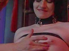 bdsm bondage caning corset gloves