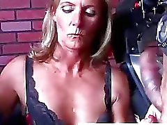 blowjob action cock sucking fellation fishnet