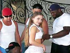 babes gang bang interracial gangbang tnaflix