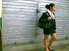 nylon upskirts voyeur