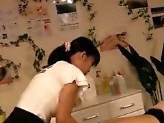 asian babe handjob korean massage