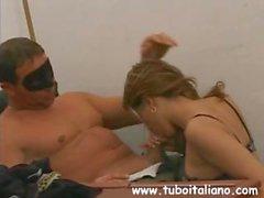 amateur big tits blowjob italian