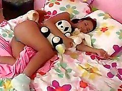 pigtail sleeping sleep