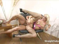 oral sex anal sex blonde big tits blowjob
