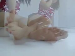 teenager young feet legs