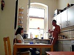 amateur brunette softcore striptease voyeur
