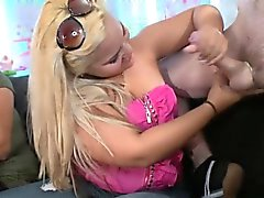 black and ebony blonde blowjob brunette cfnm