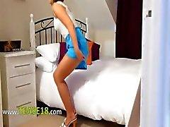 amateur babe blonde nylon