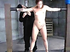 bdsm brunette fetish small tits spanking