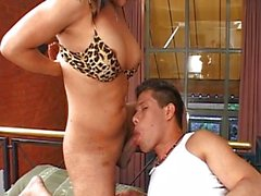shemale anal sex brunette