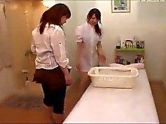 fingering japanese lesbians massage voyeur