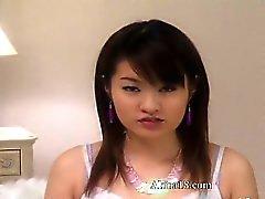 asiatisk babe brunett fetisch hardcore