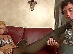 femdom fétichisme des pieds milfs