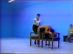 brunettes femdom spanking