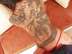paar vaginale seks masturbatie orale seks brunette