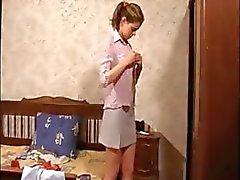 namorada estudante espião