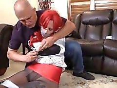 bdsm taped-up-bondage gnd-bondage pantyhose