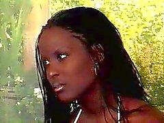 preto e ébano interracial mamilos