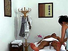 asiatique pipe branlette massage