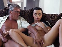 blowjob brunette czech doggystyle