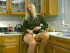 Sexy British Goddess Lingerie Strip Tease JOI