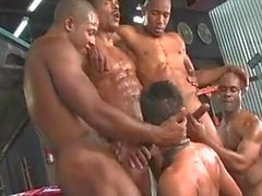 gay black big cock group sex