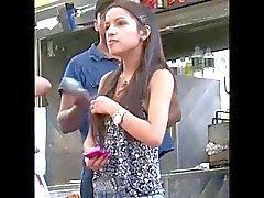 Very Cute Latina Not Teen (small ass n nice gap)
