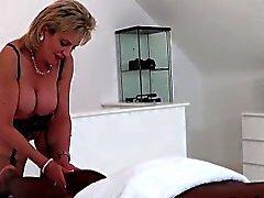 big boobs blonde british femdom