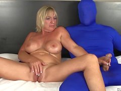 couple masturbation mature handjob milf