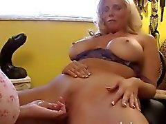 cunt handjob spridning anal