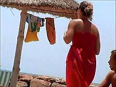 beach french voyeur