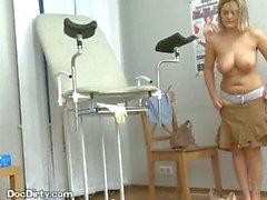 Blonde Patient Takes Her Doctors Load In Her Mouth