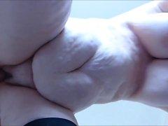 amateur bbw big boobs oma strümpfe