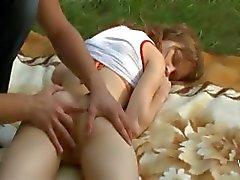 anal floresta grande ao ar livre adolescente