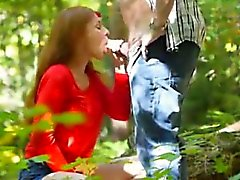 Nice Blowjob in the Wood