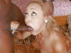 Tight Pussy Swallows Big Black Cock