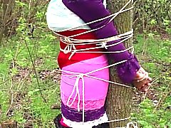 kink bdsm tied-to-tree