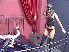 bdsm femdom german latex spanking