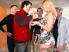 blonde gangbang group sex hardcore orgy