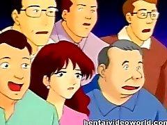orgia hentai dibujos animados animado